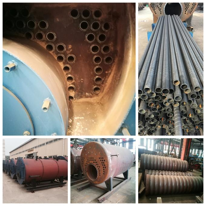 1-40 Ton  Oil Fired Steam Boiler  Horizontal Type Spiral Tubes Light Oil Boiler