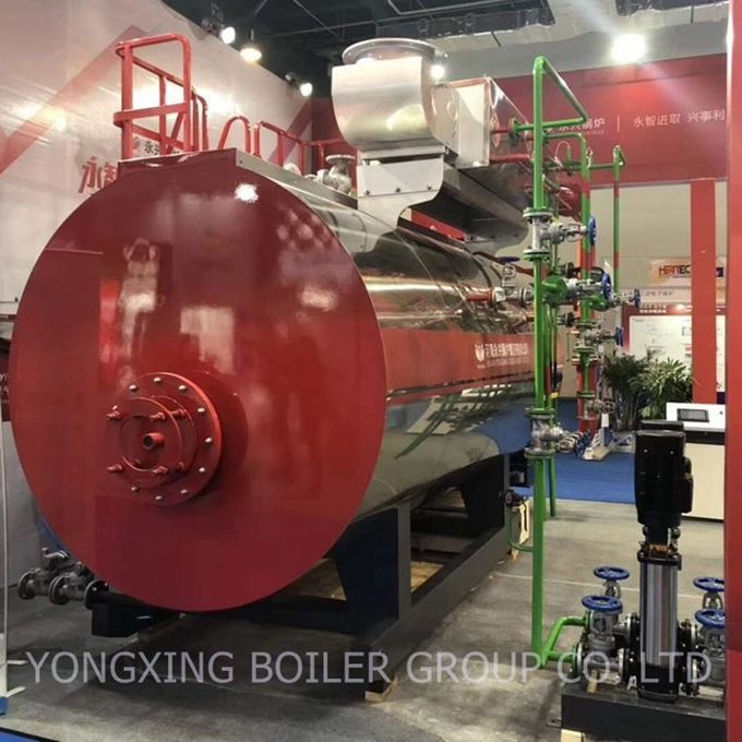 Automatic Industrial Oil Fired Steam Boiler For Brewery Factory High Efficiency
