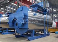 China 1-40 Ton  Oil Fired Steam Boiler  Horizontal Type Spiral Tubes Light Oil Boiler company