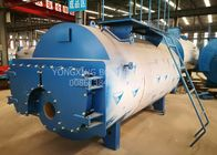 China 5 Ton Oil Fired Combi Boiler , 3 Pass Wet Back Steam Boiler For Palm Oil Production company