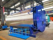 China Fully Automatic Oil Fired Hot Water Boiler / Industrial Water Boiler ISO9001 factory