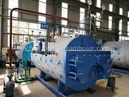 10 Ton Rubber Industrial Steam Boilers , LPG Steam Boiler Low Pressure