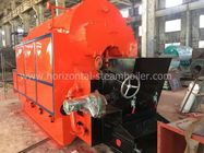 Double Drum Coal Fired Steam Boiler High Capacity 1 Ton 2 Ton Per Hour
