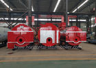Horizontal 1 Ton Industrial Steam Boilers Oil Fired Hot Water Furnace Environmental Friendly