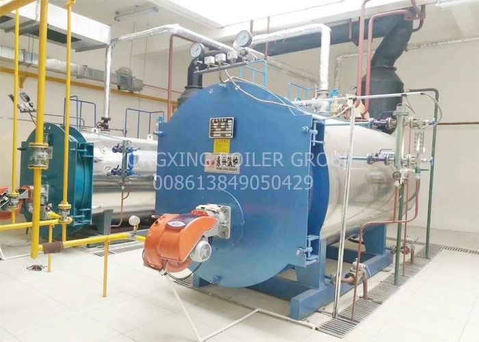 5 ton industrial gas diesel oil fired steam boiler for pharmaceutical industry