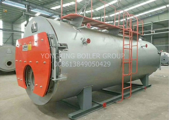 5 Ton Industrial Oil Fired Steam Boiler Heavy Oil PLC Control Easy Maintain