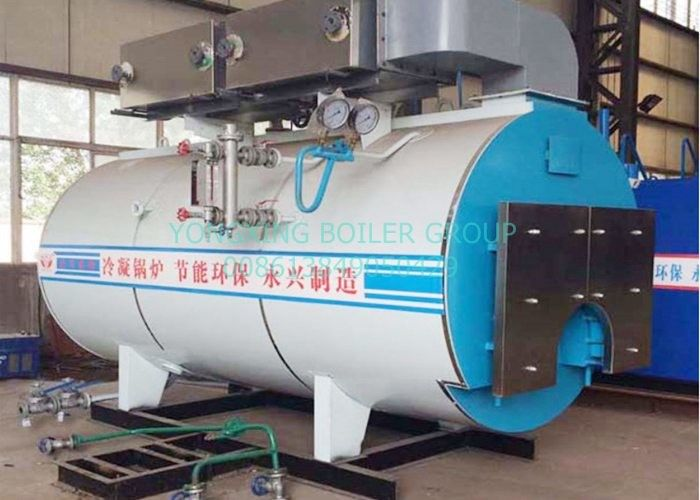 Chemical Industry Oil Fired Steam Boiler 6 Ton ASME Certification