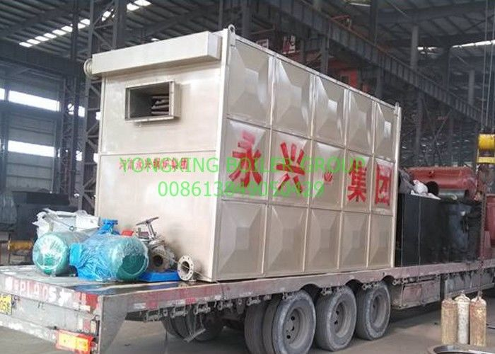 Chain Grate Hot Oil Boiler 1700kw Thermal Oil Furnace  Closed - Cycle Heating