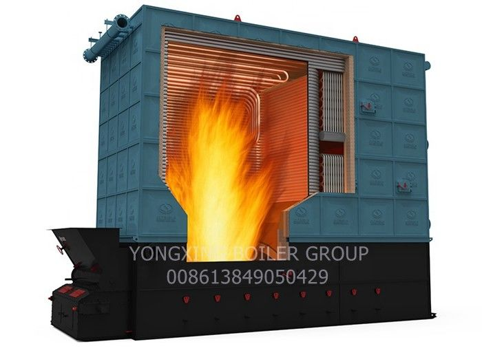 3500kw Oil Fired Thermic Fluid Heater Hot Oil System With Hot Oil Recycle Pump