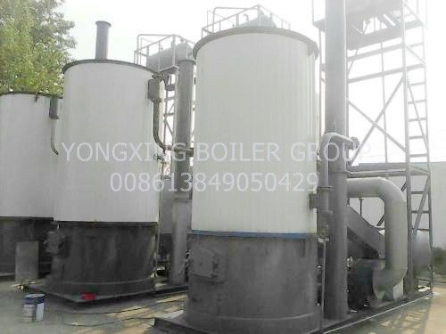 Vertical Thermal Oil Boiler 950kw Thermal Fluid Heating System Constant Temperature