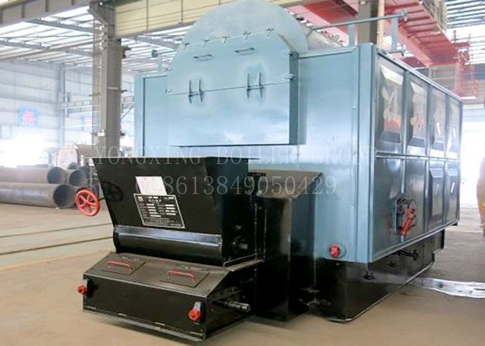 Quick - Loading D Type Water Tube Boiler Coal Boilers For Home Heating Rapid Warming