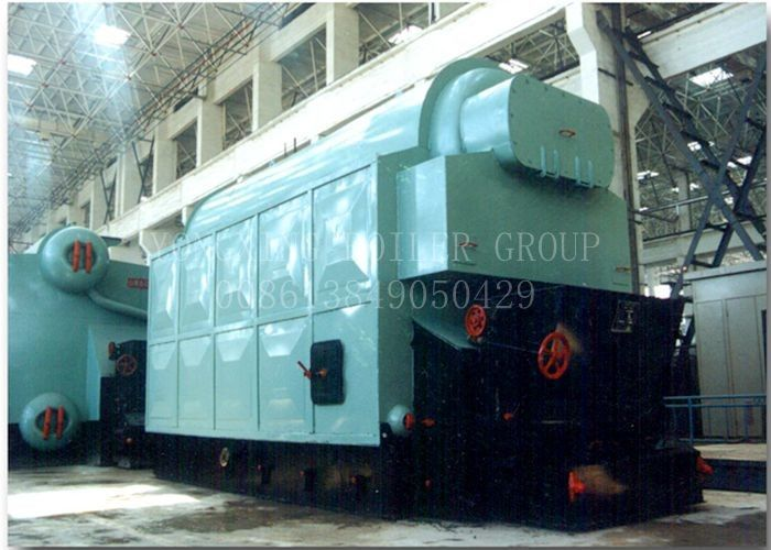 Double Drum Coal Fired Steam Boiler Industrial Water Tube Boiler SZL Type