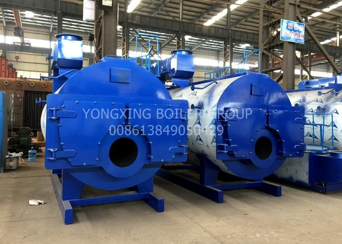 2800kW  Gas Fired Hot Water Boiler Oil And Gas Boiler Good Insulation