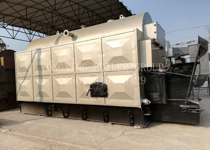 Industrial Coal Fired Steam Boiler Coal Powered Boiler With Water - Cooled Furnace