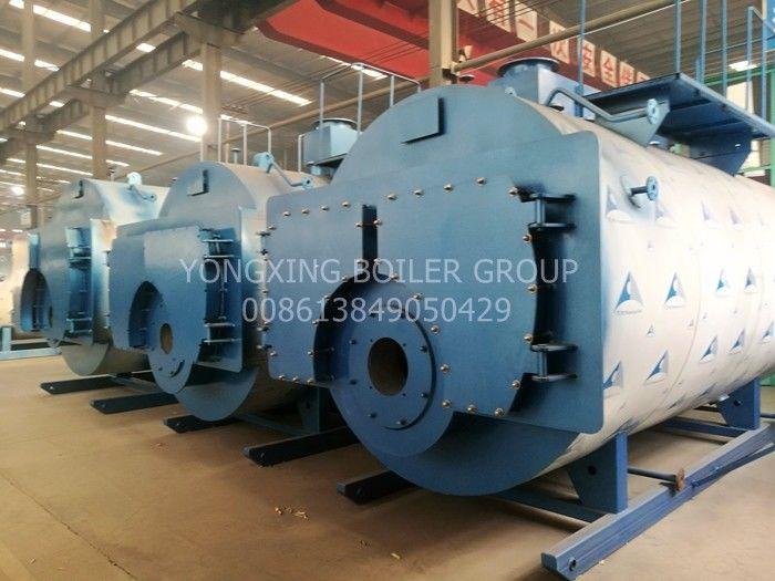 Low Nitrogen Three Pass Fire Tube Boiler Food Industry Low Pressure Steam Boiler