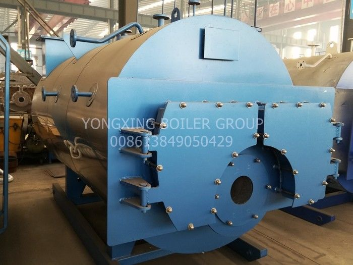 Horizontal Small Gas Fired Steam Boiler For Hotel Using New Design