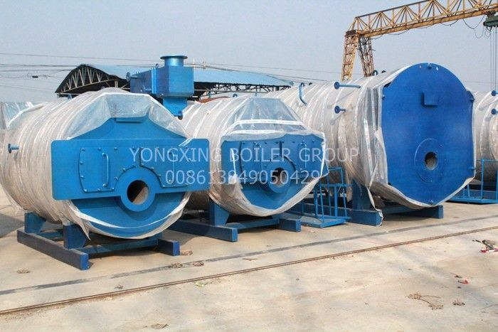Texitile Industry Oil Fired Steam Boiler Oil Central Heating Boilers For Hotel Greenhouse