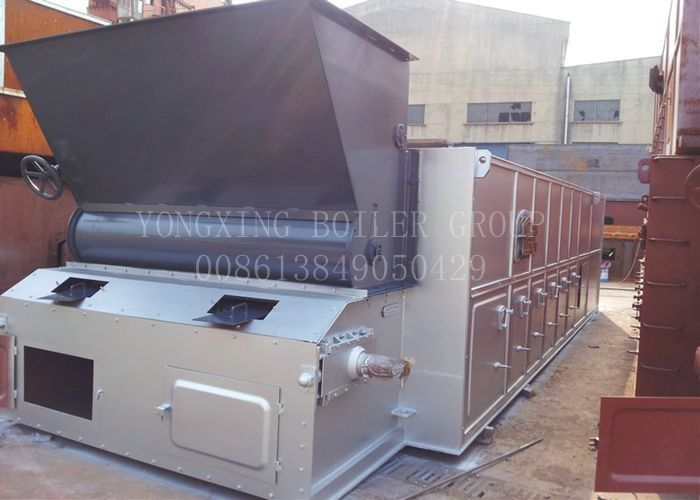 Anthracite Coal Chain Grate Stoker / Biomass Steam Boiler Equipped Steel Chain Grate