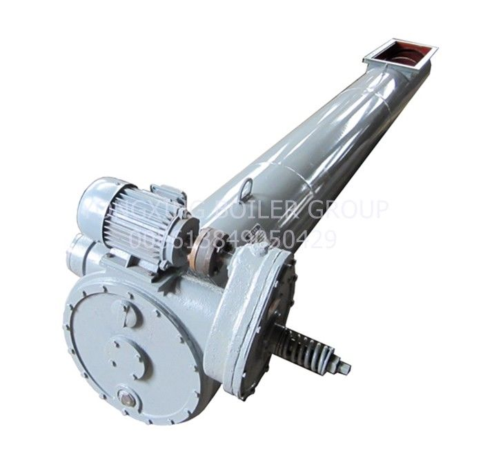 Spiral Screw Scraper Chain Conveyor 350 Kgs/H Capacity For Coal Heating Boiler