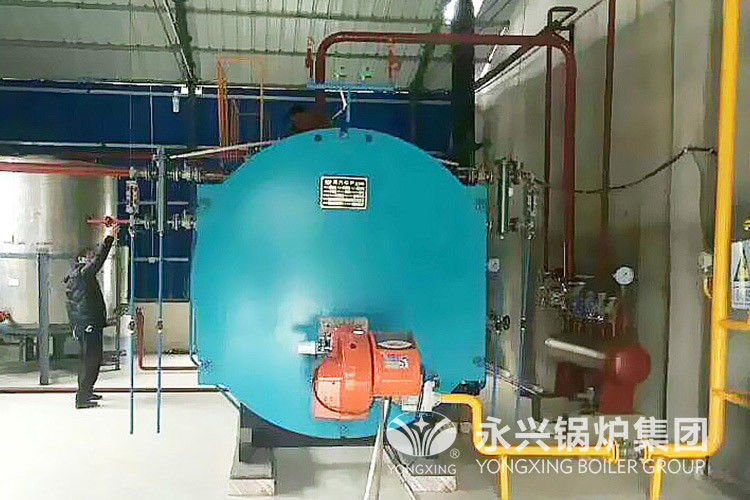 Light Diesel Oil Gas Fired Hot Water Boiler 2800kw Steam Generator Boiler