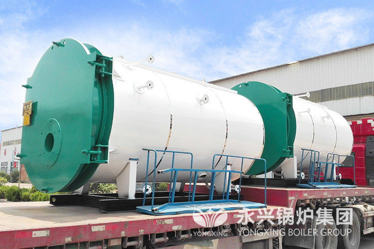 Safety Gas Fired Hot Water Boiler Gas Hot Water Furnace For Breeding Greenhouses