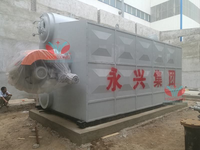 High Pressure Gas Fired Steam Boiler Fully Automatic Flexible Water Tube Boiler