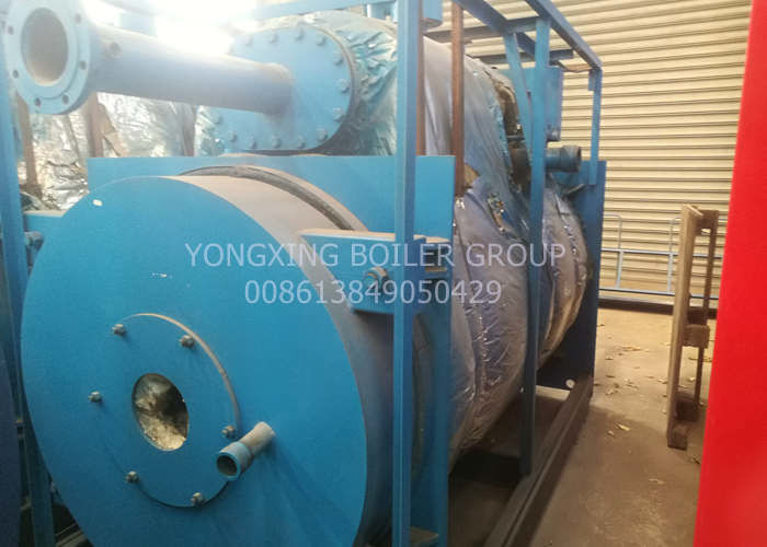 Fire Tube Commercial Gas Fired Steam Boiler Capacity 1-10t/H For Power Plant