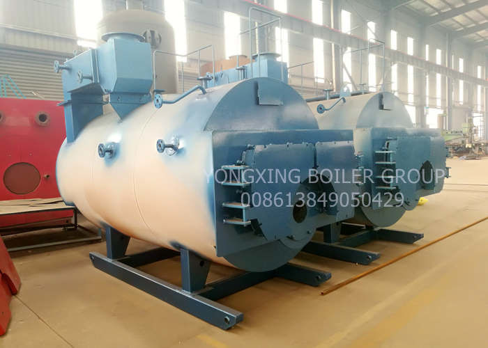 5 Ton Diesel Industrial Gas Boiler / Central Heating Most Efficient Gas Boiler