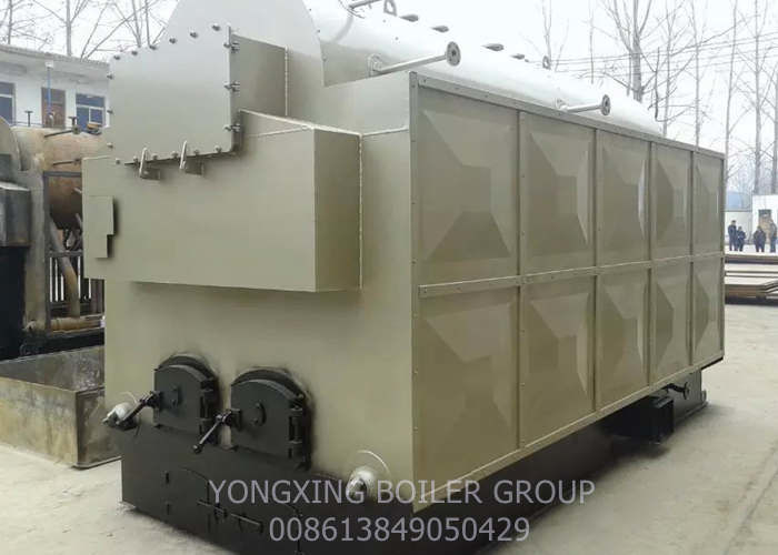 Fast Installed Wood Burning Steam Boiler / Hand Fired Wood Fired Steam Boiler 3 Tons