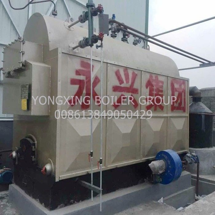 Coal/Biomass Fired Hot Water Boiler For Hospital School Heating 0.7/1.4/2.1/2.8/4.2 MW