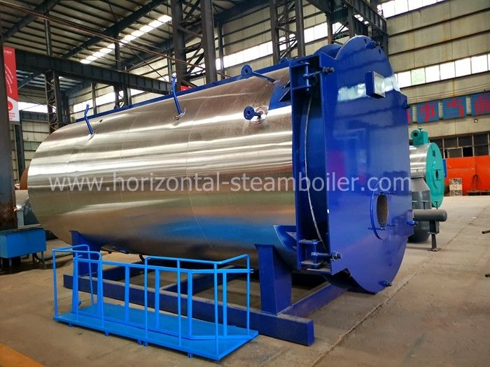 20 Tons Oil Fired Steam Boiler With Low Nitrogen Emission And High Heat Exchange Efficiency
