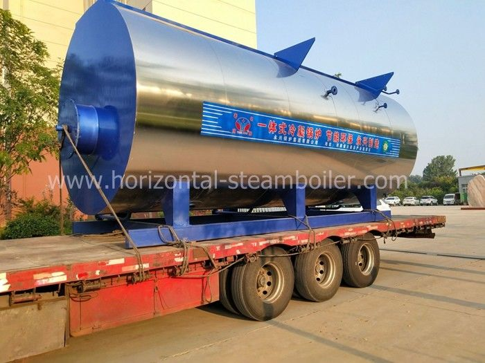 Strong Adaptability Diesel Fired Hot Water Boiler Commercial Corrugated Furnace Iso9001