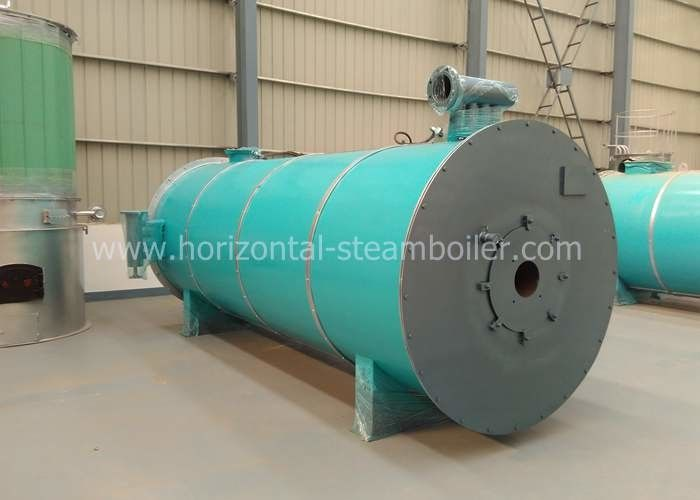 1.25-3.5MW Thermic Fluid Boiler , Textile Mill Horizontal Gas Thermal Boiler