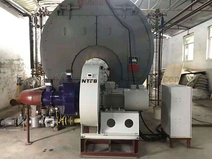 Gas Condensing Steam Boiler , Commercial Oil Fired Boilers For Rubber Industry
