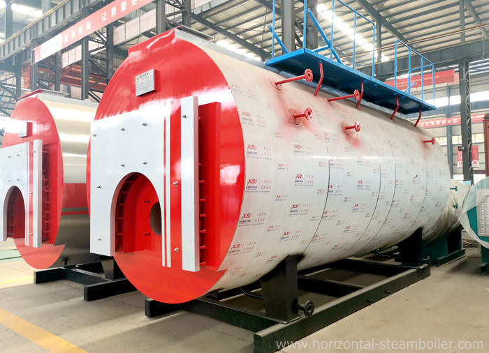 High Efficiency Diesel Fired Steam Boiler Skid Mounted For Textile Industry
