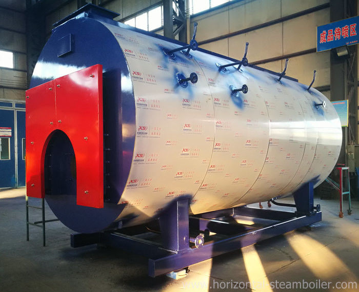 Customized High Efficiency Gas Fired Steam Boiler Explosion Proof Device