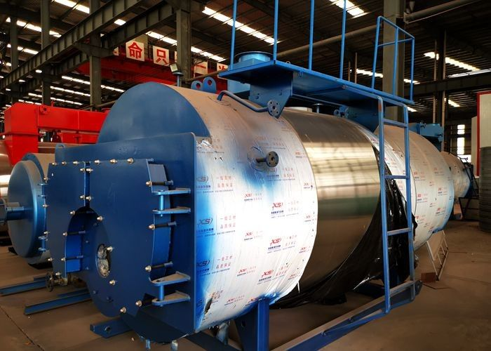 Energy Saving Industrial Hot Water Boilers 0.35-14mw With Automatic Control System For Hotel And