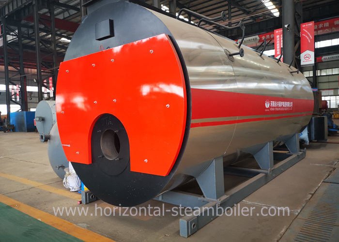 Yinchen Boiler WNS Industrial Oil Gas Fire Tube Steam