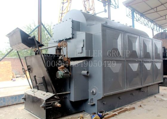 Assembled Coal Fired Residential Boiler Eco - Friendly Marine Water Tube Boiler