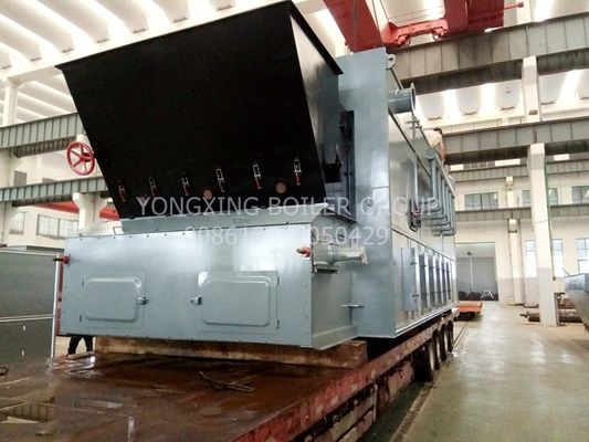 10t/H Travelling Grate Furnace Biomass Wood Pellet Boiler Easily Operation For Food Mill