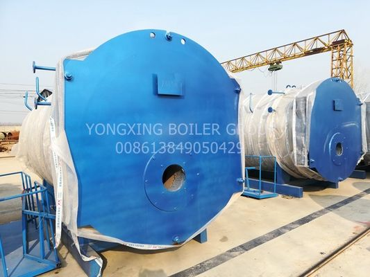 Industrial Automatic Commercial Gas Boiler , Oil Steam Boiler For Chemical Mill