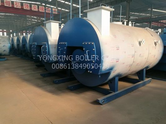 Industrial High Efficiency Gas Fired Steam Boiler 1/2//4/6/8/10 For Pharmaceutical Industry