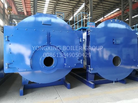 0.7Mpa Horizontal Fire Tube Boiler Fully Automatic Low Pressure Steam Boiler
