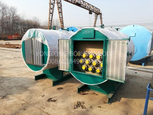 China Super Durable Horizontal Electric Hot Water Boiler With Low Pressure 240-2880 Kw factory