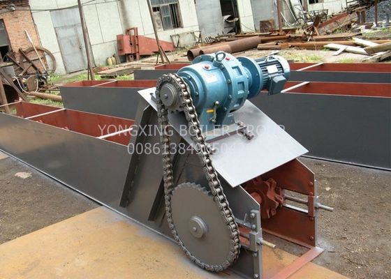 Large Capacity Scraper Chain Conveyor Ash Extractor For 1-40T Coal Steam Boiler