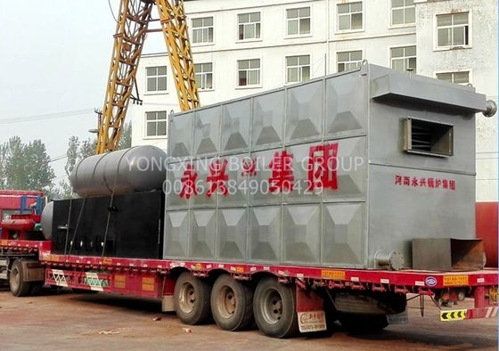 Bi - Coil Thermal Fluid Boiler Coal Fired Water Tube Boiler  For Plywood Drying Factory