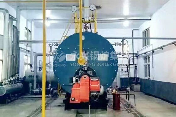 China Horizontal Gas Fired Hot Water Boiler Condensing Boiler Hot Water Tank factory