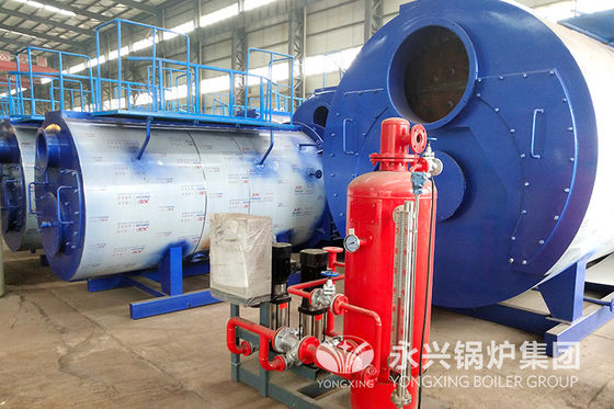 China 3 Ton Industrial Gas Fired Hot Water Boiler 2.1MW No Explosion Risk Simple Operation factory