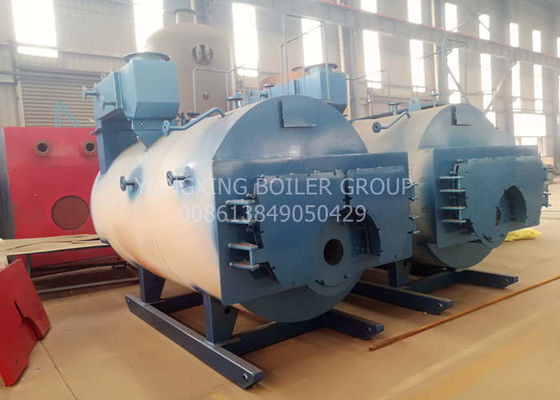 2 Ton Small Gas Fired Steam Boiler With Fully Automatic Opening Door Three Return