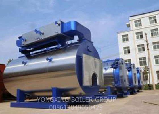 Customized High Pressure Steam Boiler , Industrial Gas Fired Boiler 0.7/1/1.25/1.6MPa